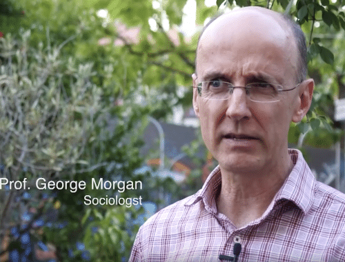 Associate Prof. George Morgan explains the disrupted career paths of young people today